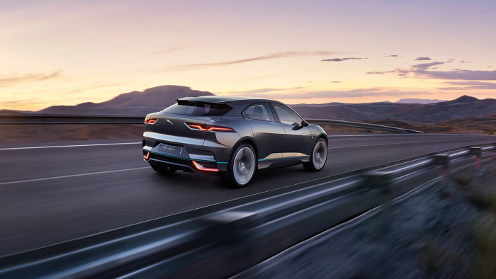 New All-Electric Jaguar I-Pace