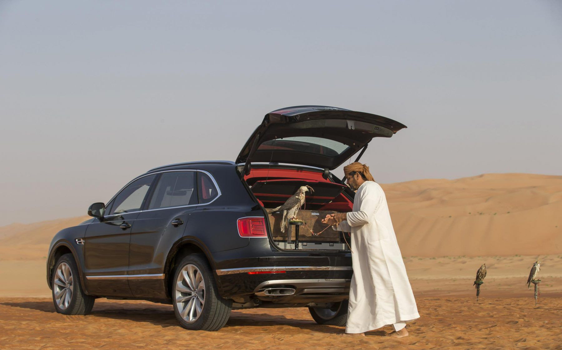 Bentley Bentayga Falconry Special Edition Car