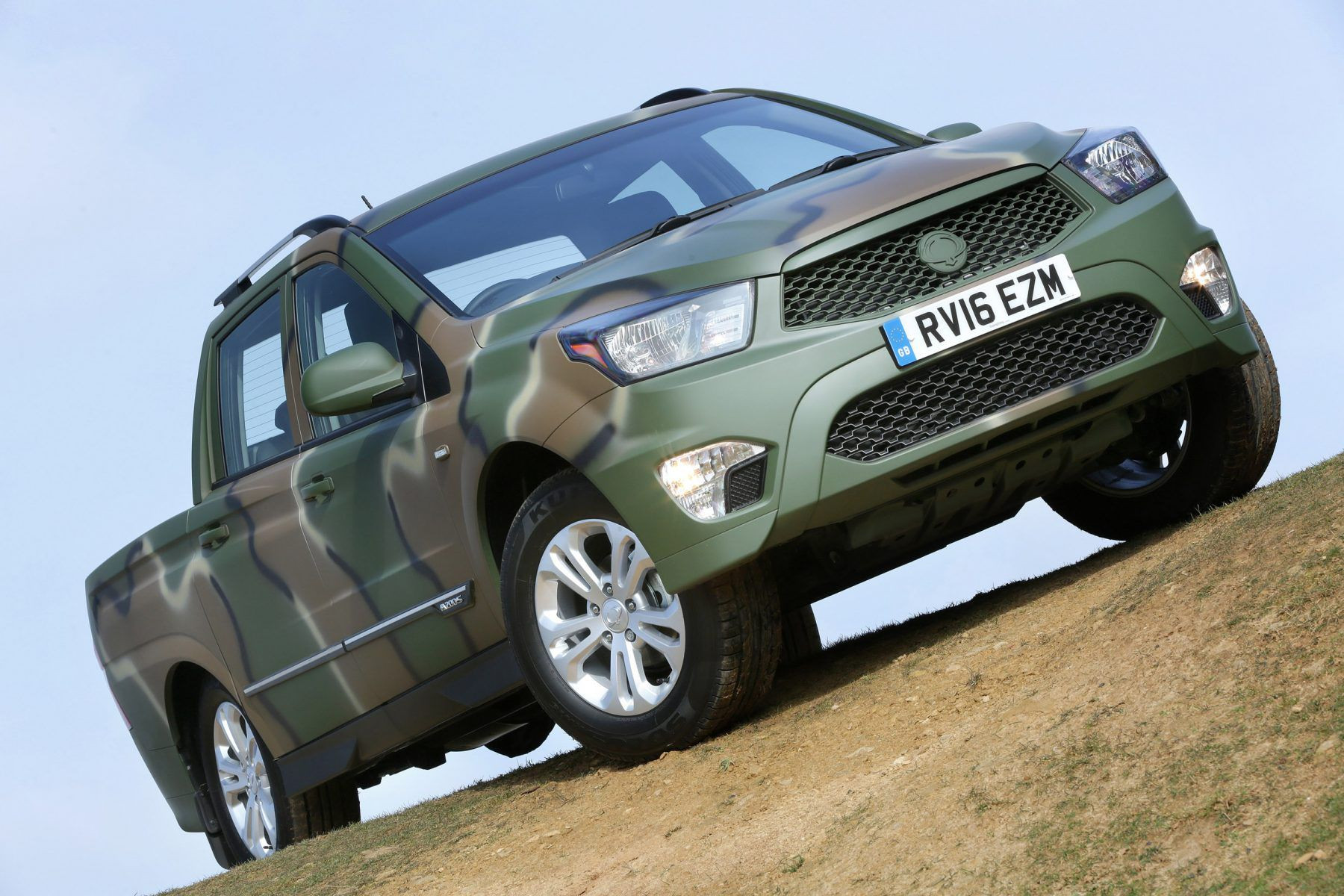 SsangYong Korando Sports DMZ Special Edition Car