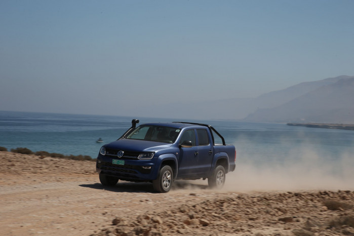 VW Amarok in Oman
