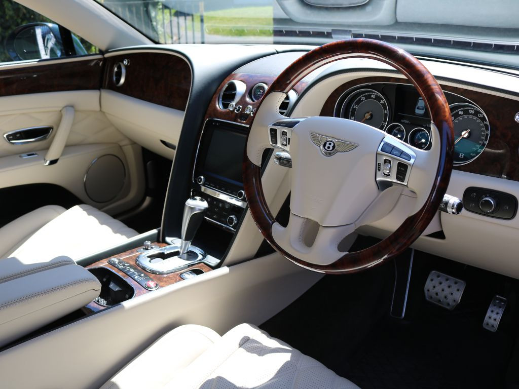 Prince Andrew's former Bentley Flying Spur is for sale!