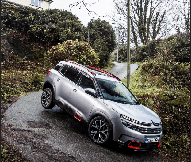 New Citröen  C5 Aircross SUV tackles the world's steepest street and comes out on top