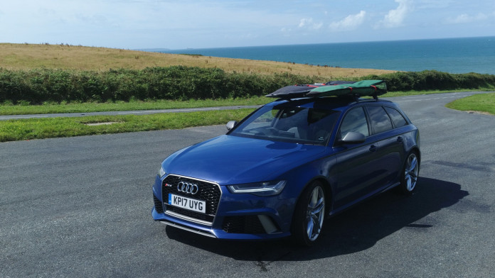 Audi's RS6: The perfect car for surfing?