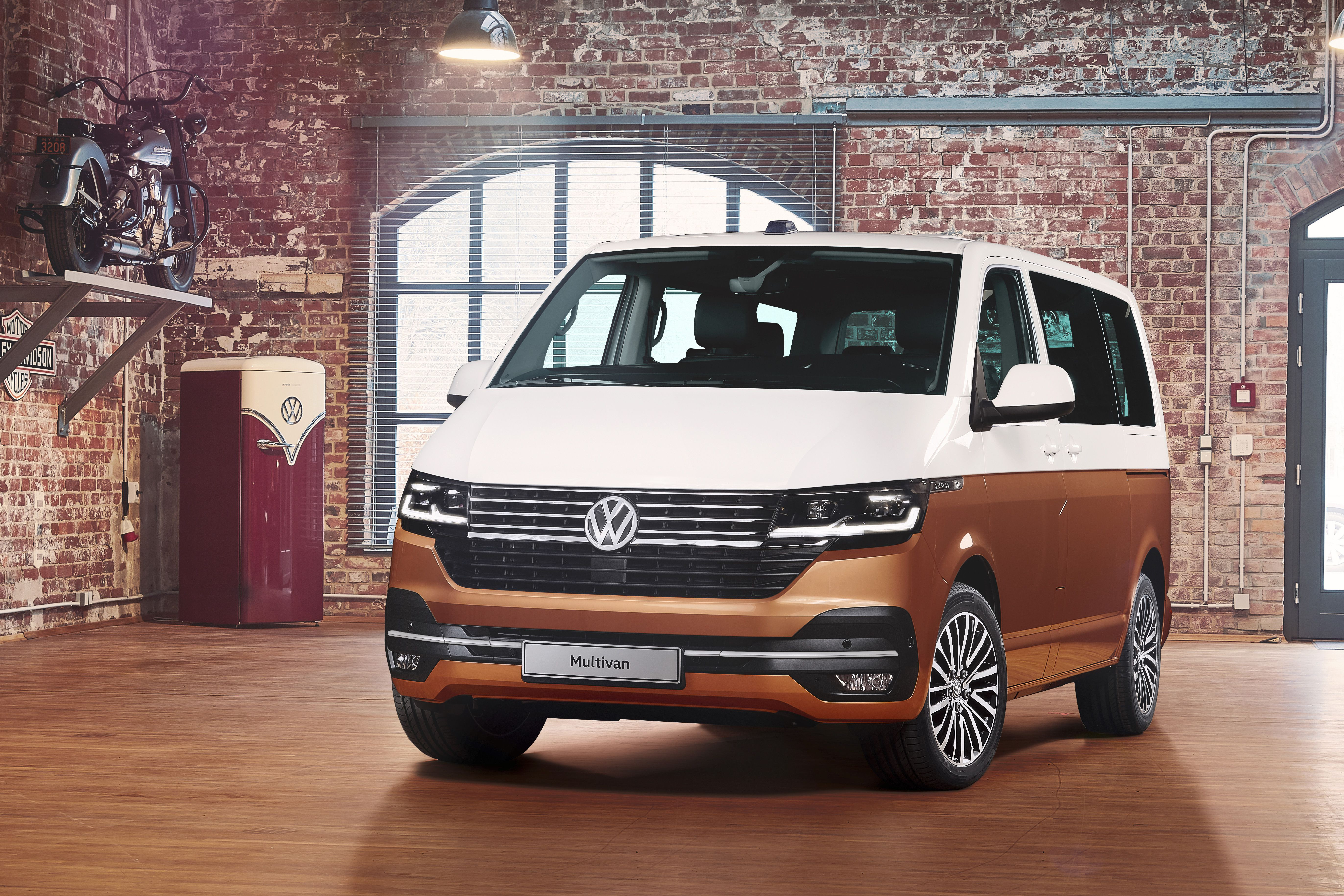 Front of VW T6.1