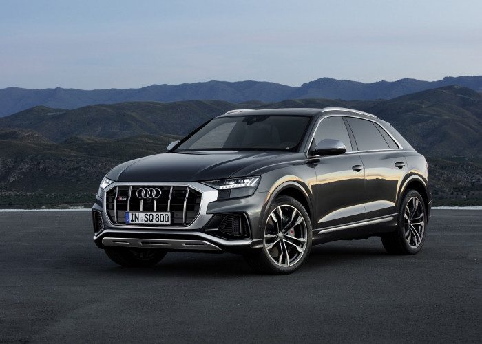Audi SQ8 revealed with 429bhp V8 diesel