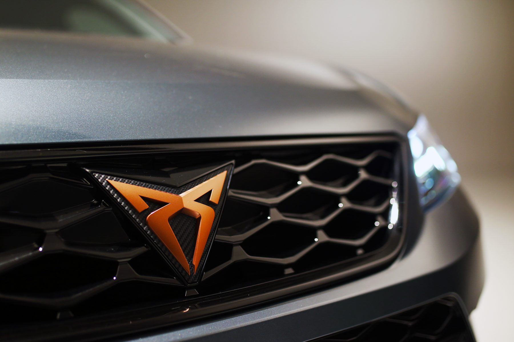 Cupra badge