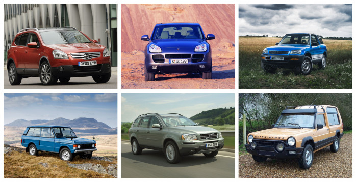 The SUVs that set the trend for today