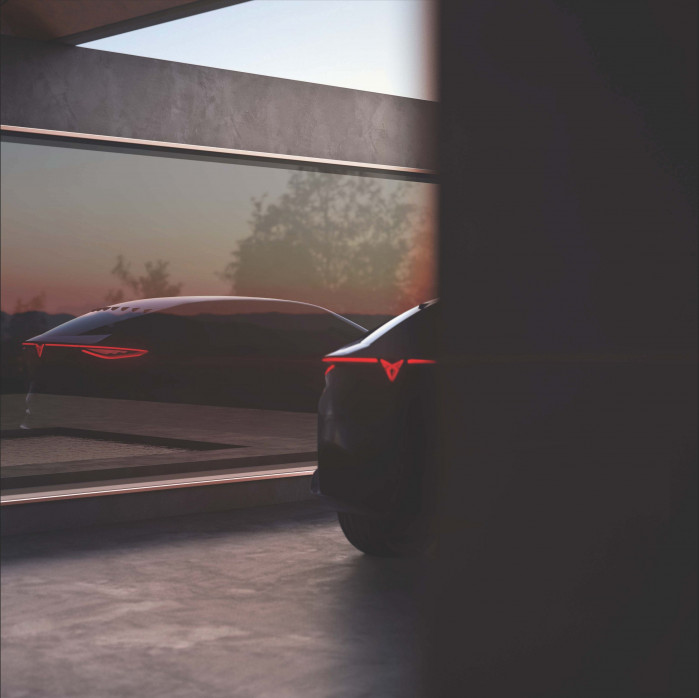 Cupra teases new all-electric concept car