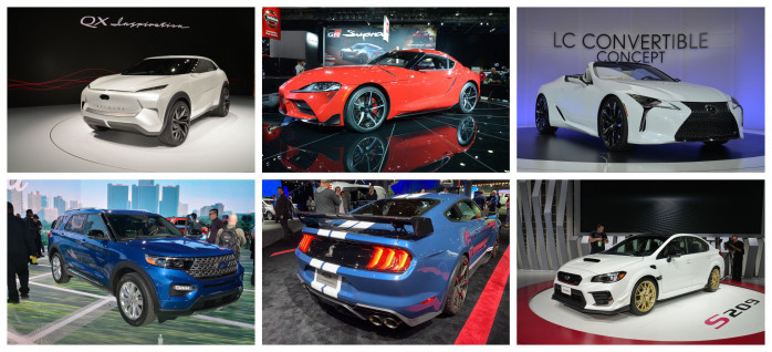 The star cars of the Detroit Motor Show