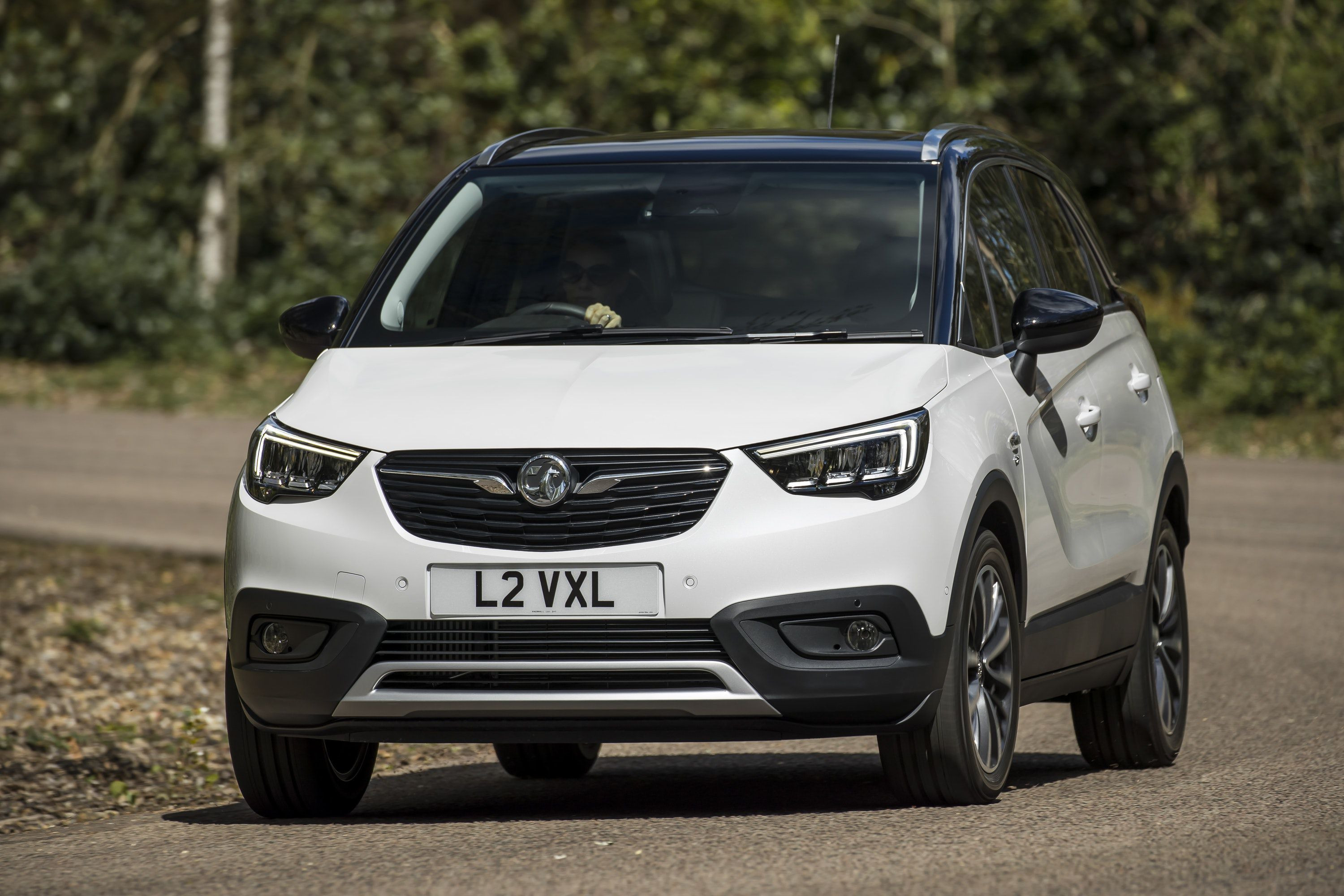 Front view of vauxhall crossland x