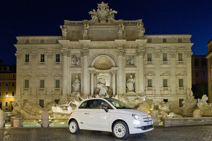 The 500 Dolcevita Special edition celebrates the 62nd Anniversary of the iconic Fiat