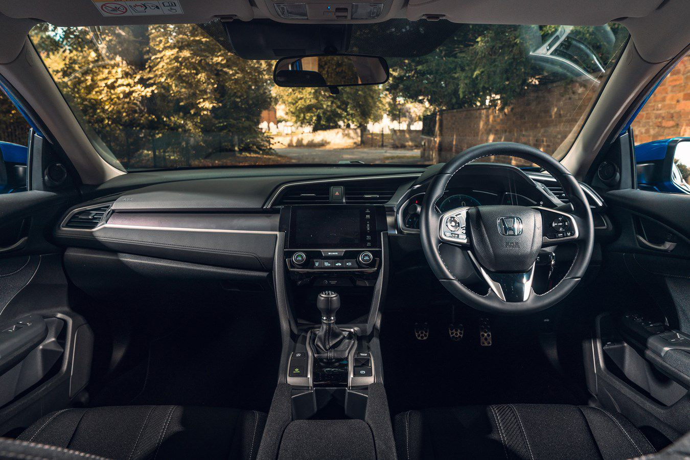 Interior of the Honda Civic