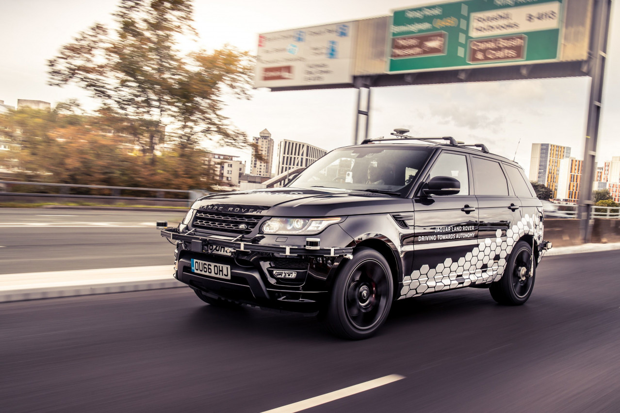Self-driving Range Rover completes first autonomous lap of Coventry Ring Road