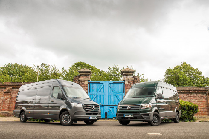 Twin test: Mercedes-Benz Sprinter v Volkswagen Crafter