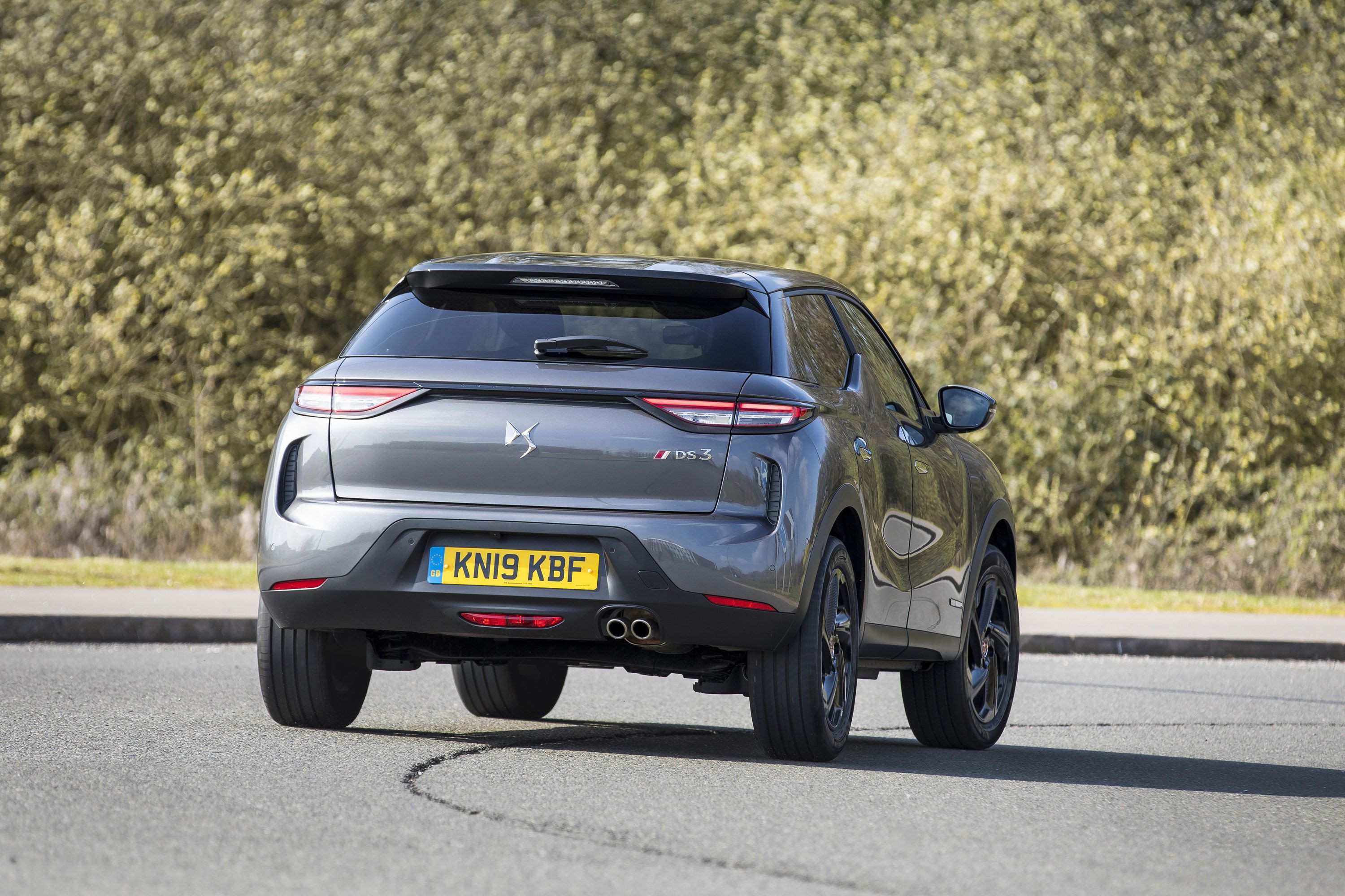 Rear view of the DS3 Crossback