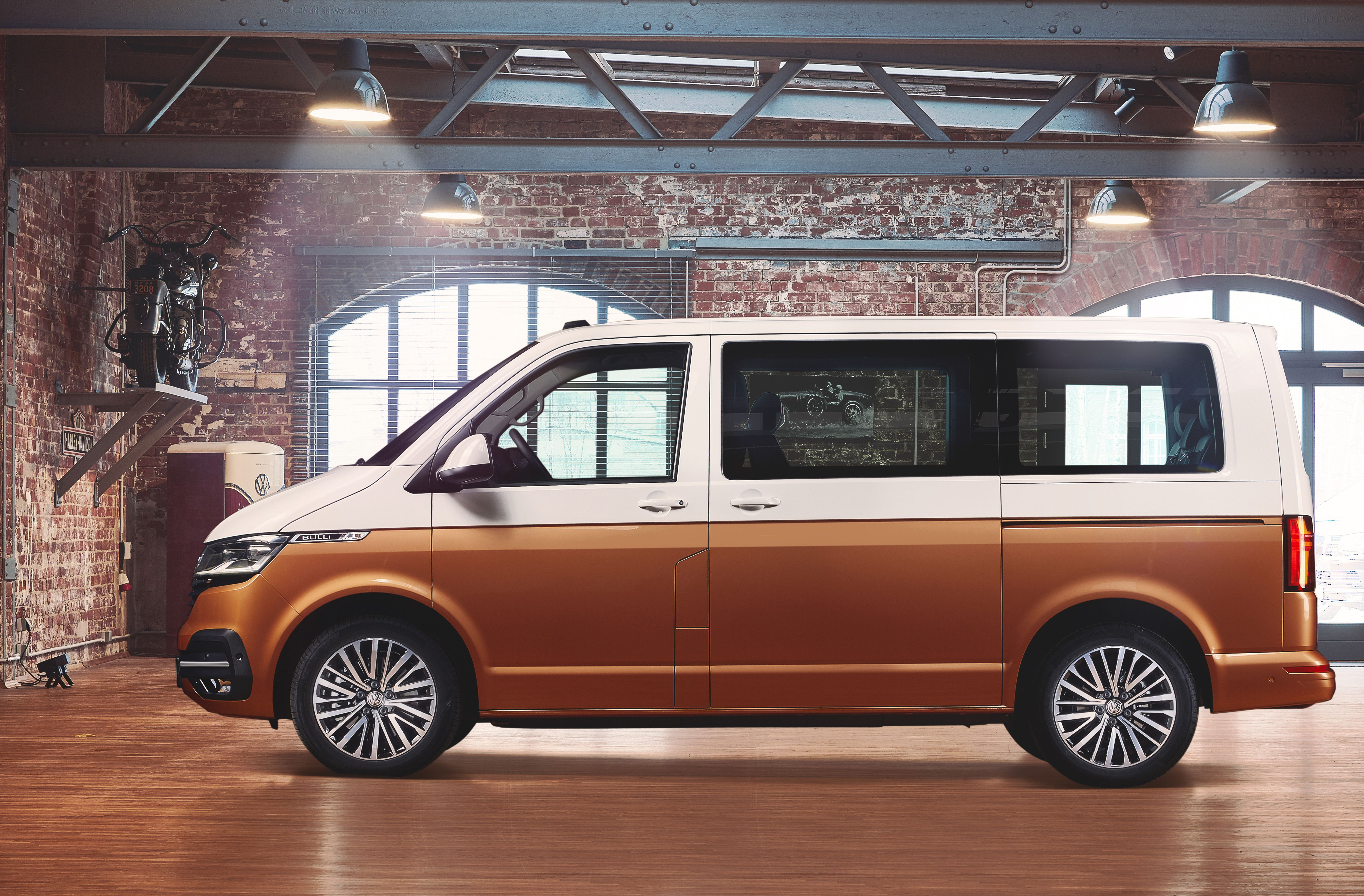 Side view of VW T6.1