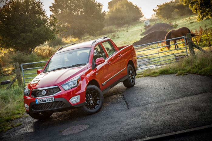 What are the benefits of using a pick-up as a company car?