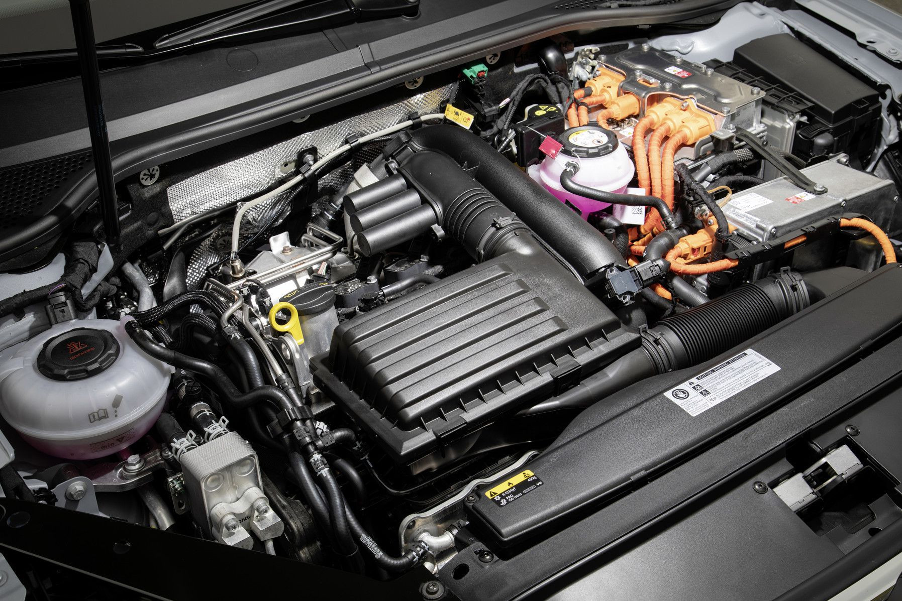 Under the bonnet - VW Passat