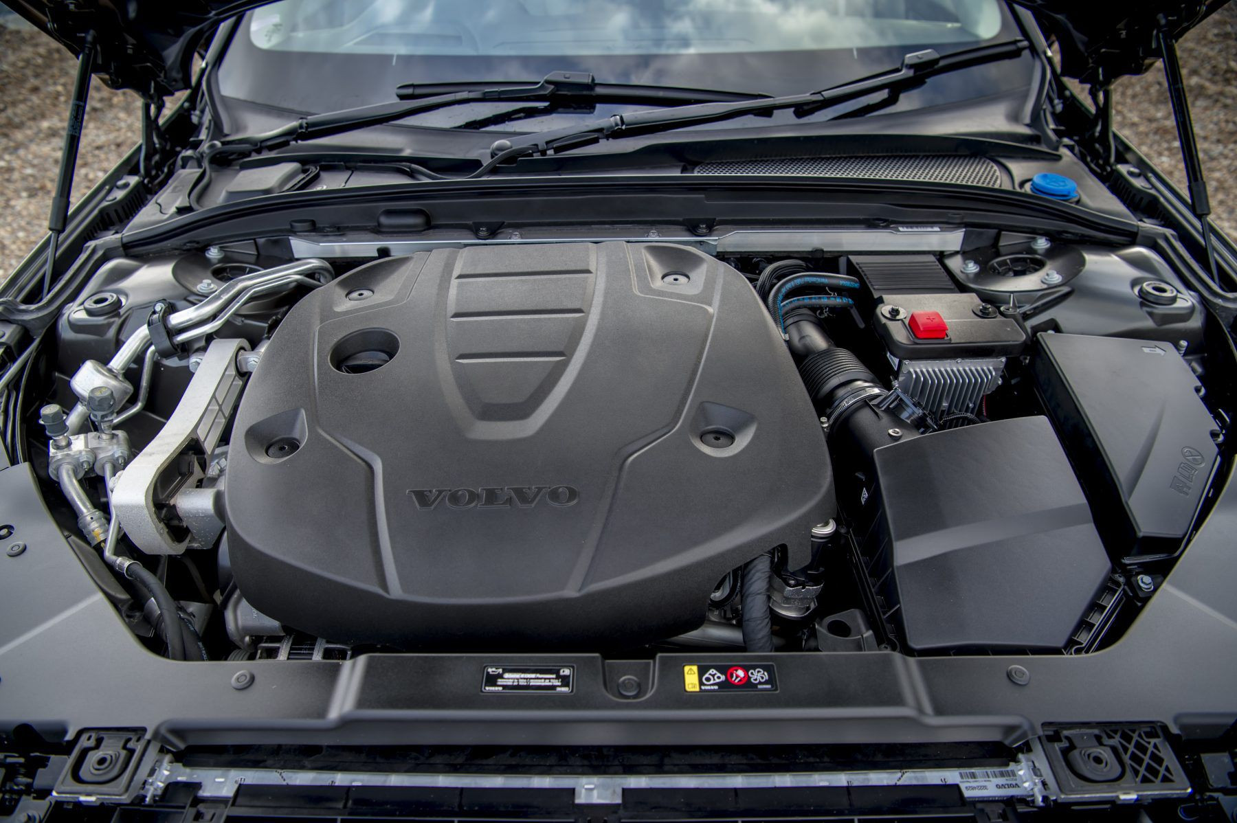 Engine of the Volvo V60 Cross Country