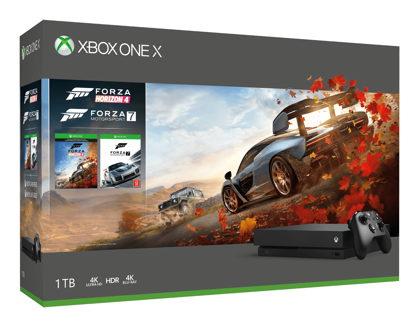 Xbox One X Forza MotorSport games console