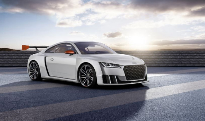 600PS Audi TT Concept Gives A Taste Of Future Turbo Power