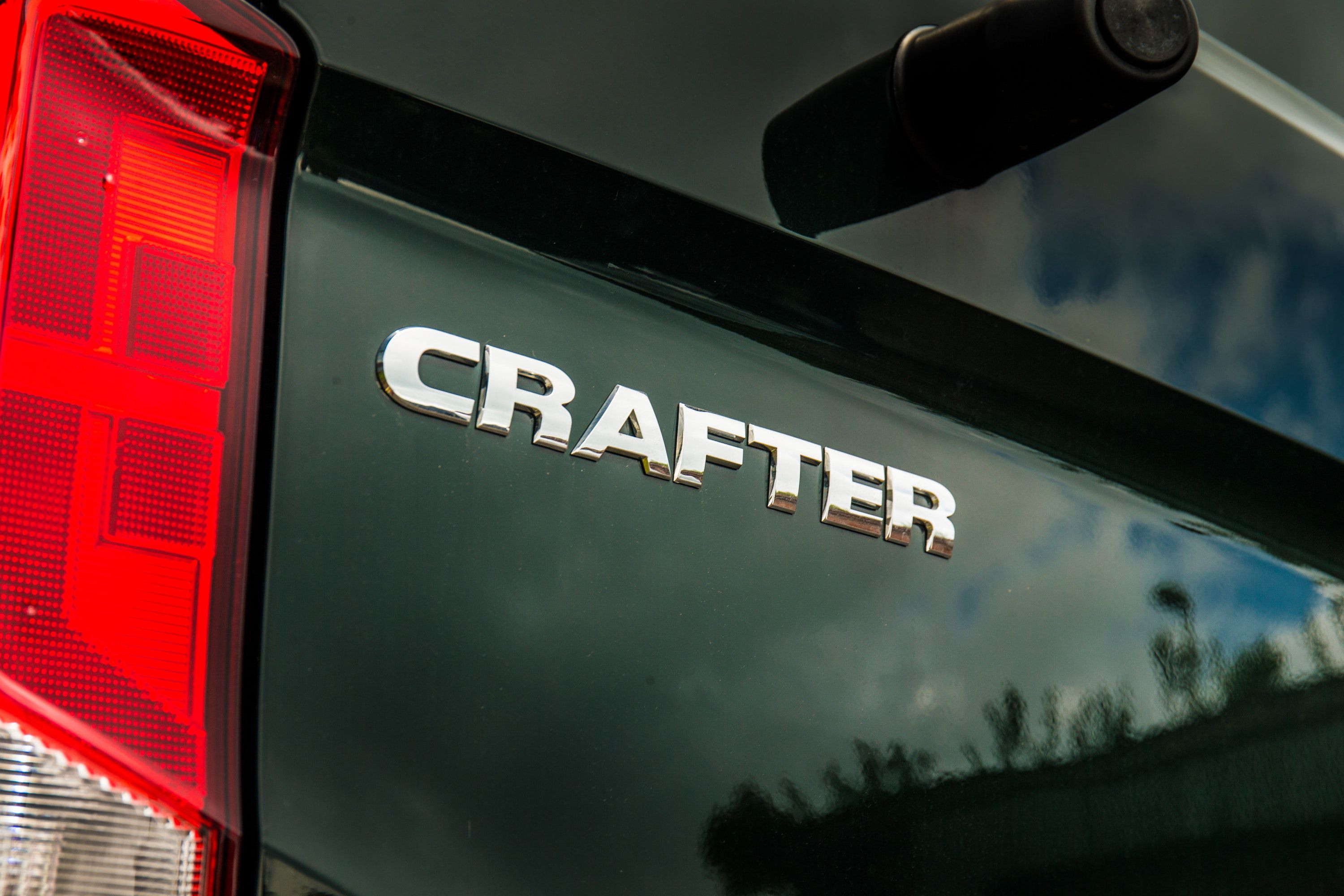 close up of VW Crafter