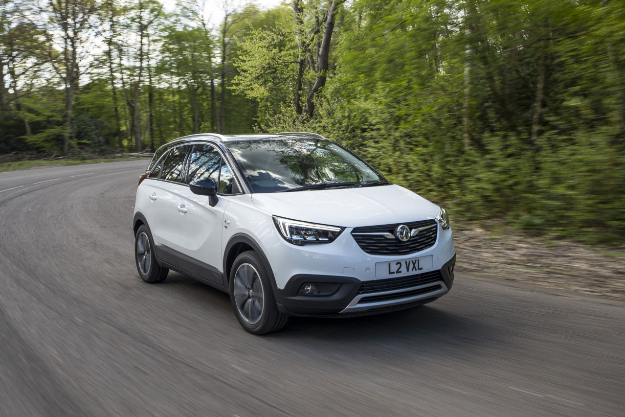 First Drive: Vauxhall's Crossland X takes on compact SUV rivals