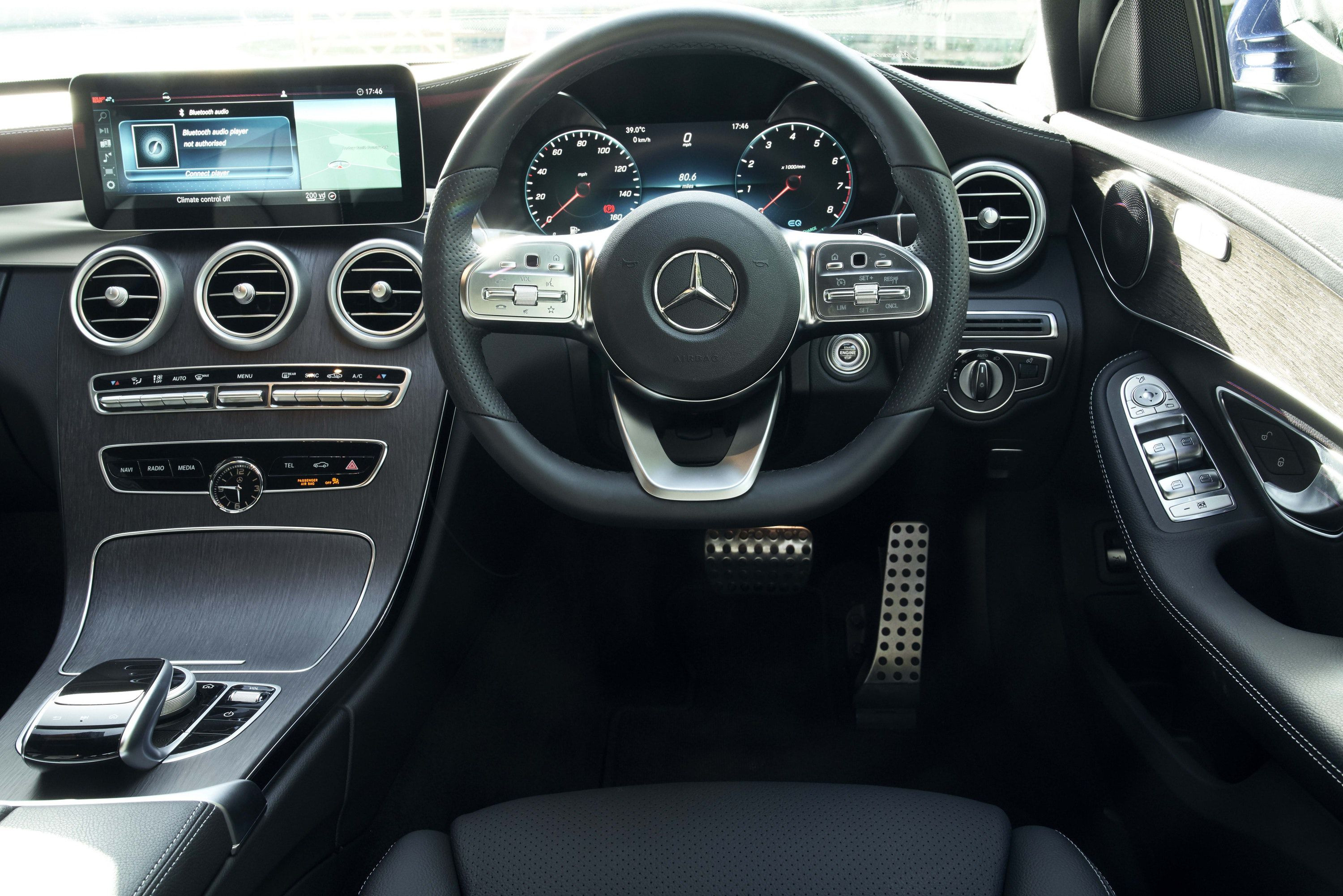 The Interior of Mercedes-Benz C-Class
