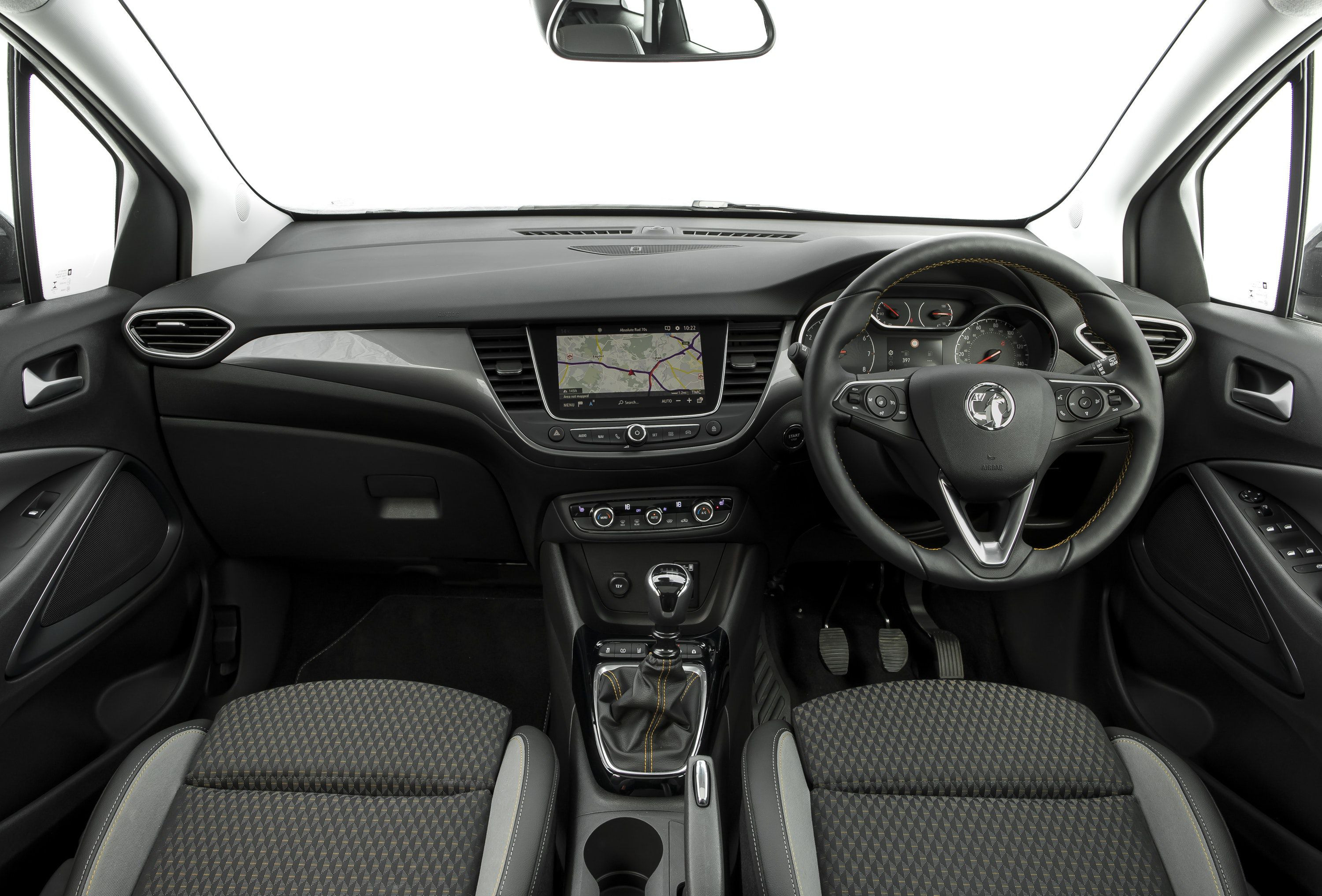 interior of vauxhall Crossland