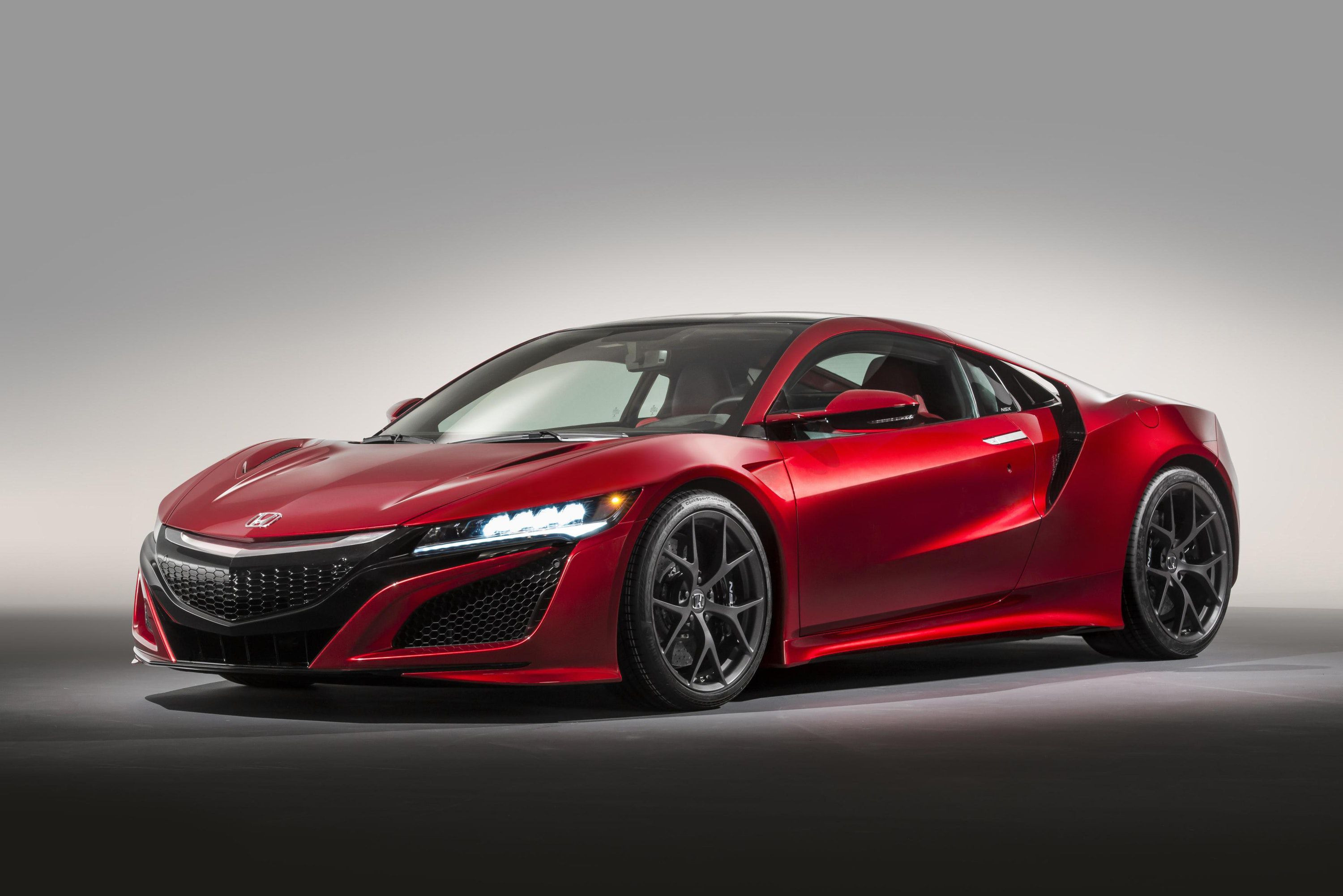 Red Honda NSX