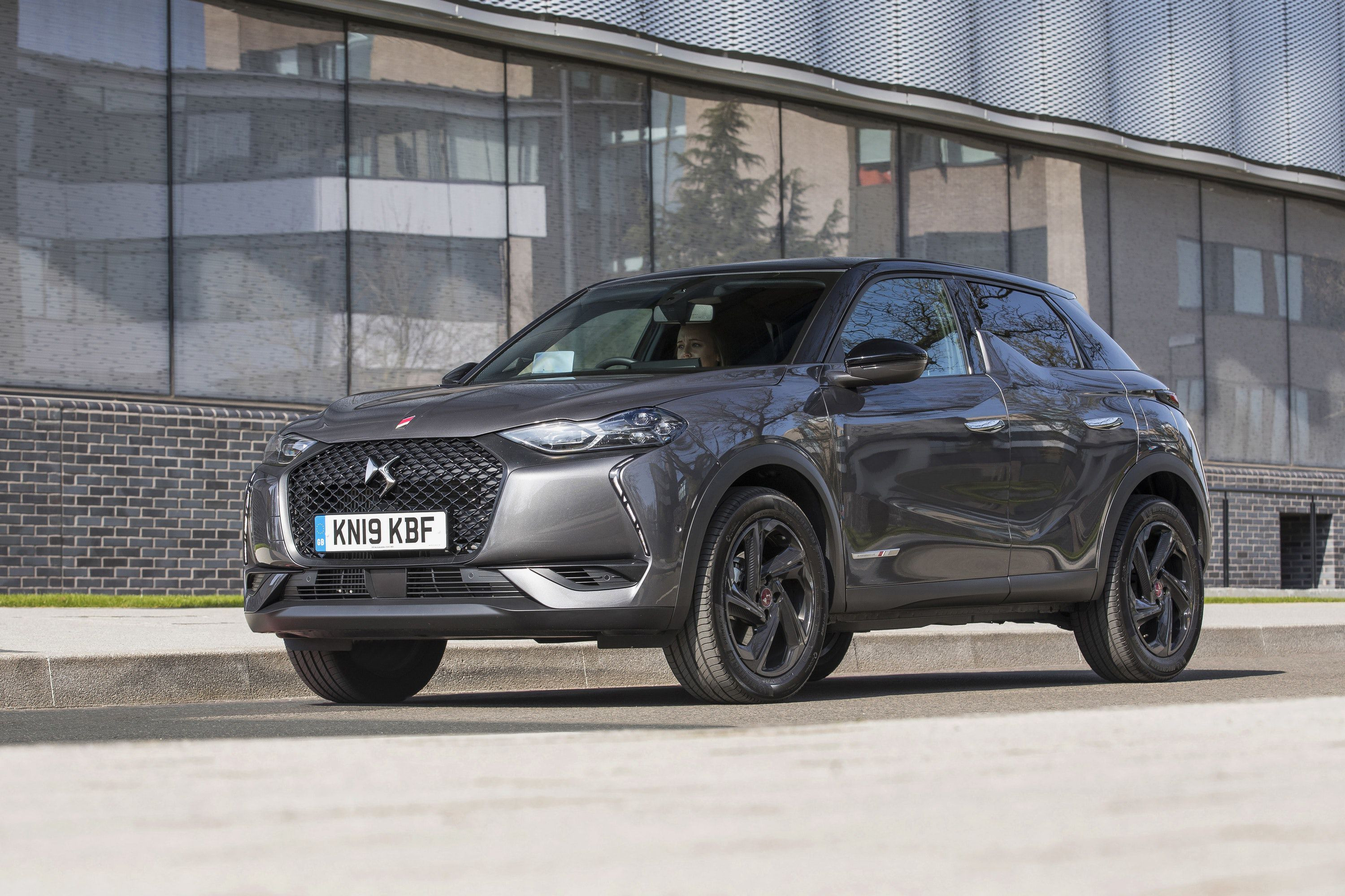 Parked front DS3 Crossback