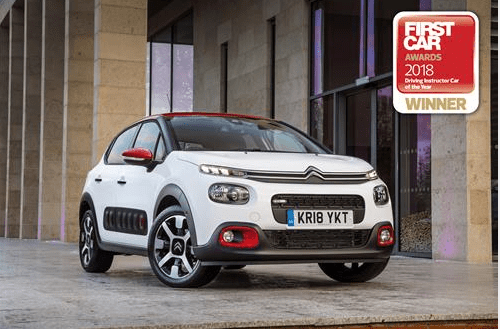 Citroën C3 Wins Driving Instructor Car of the Year at FirstCar Awards 2018
