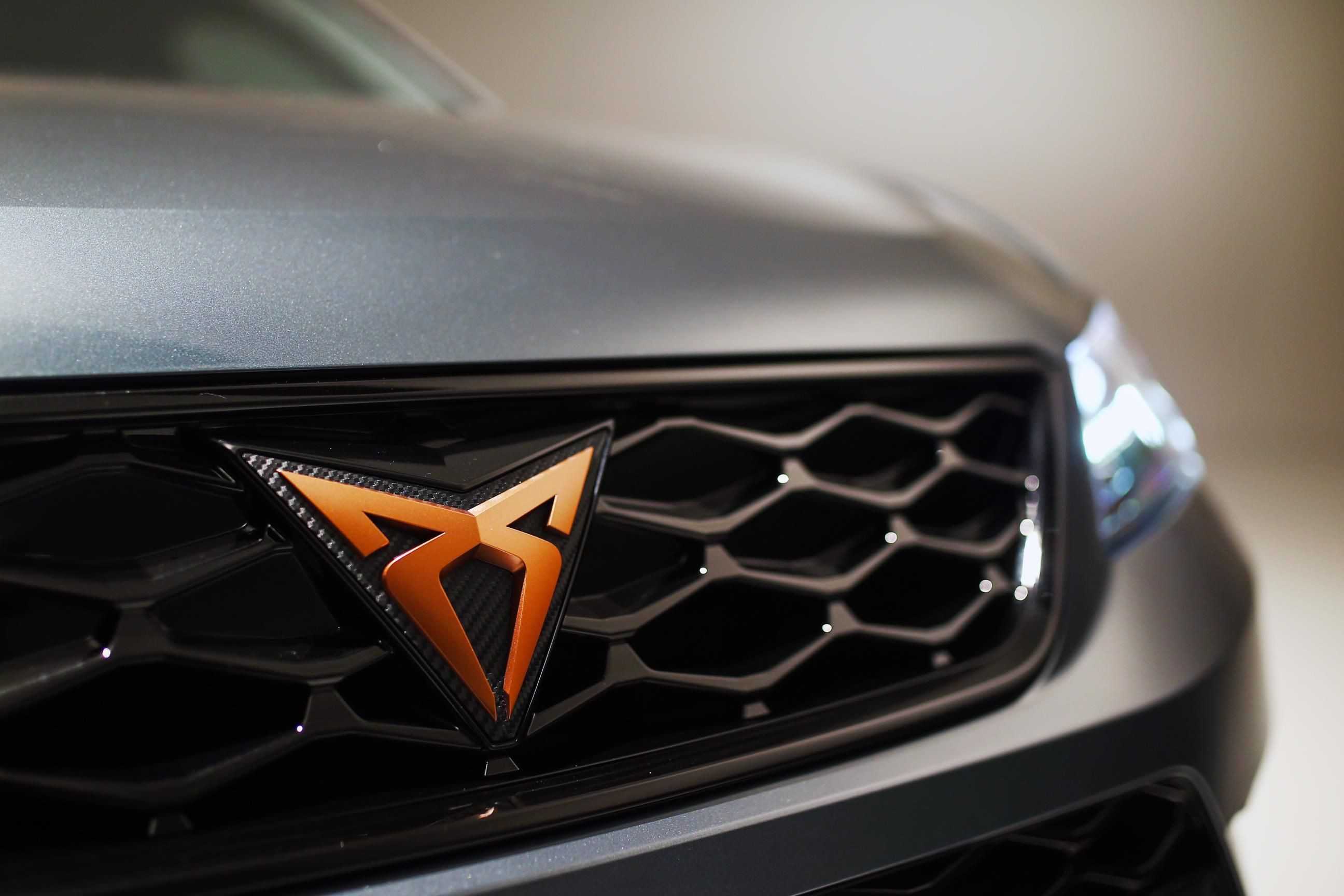 CUPRA Ateca with the new CUPRA logo on the grille