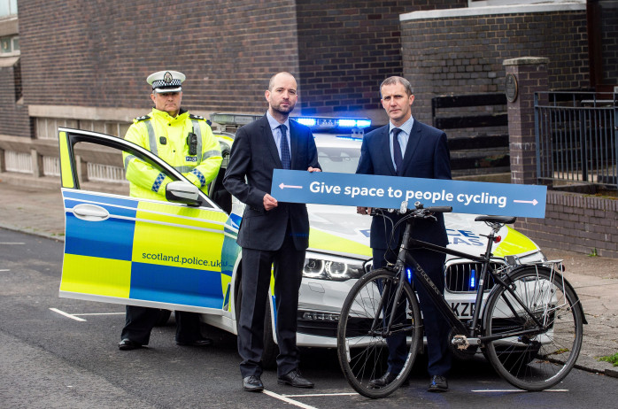 Campaign to Cut Risk to Cyclists on Scotland's Road