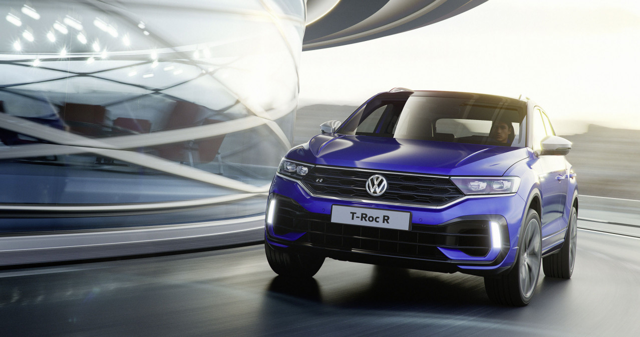 Volkswagen T-Roc R compact Performance SUV open for order
