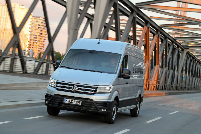 Volkswagen's e-Crafter Test Drive Review