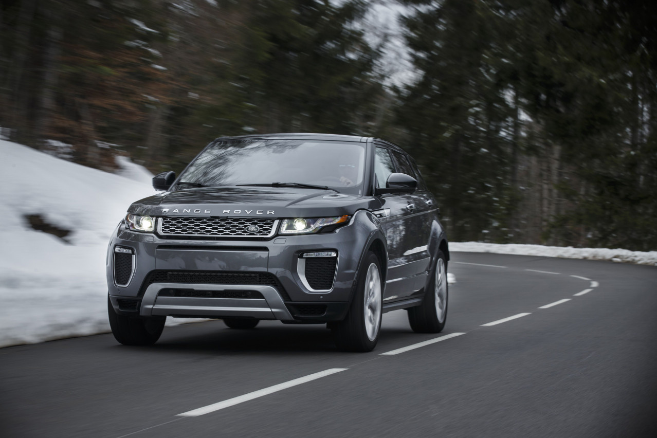 Range Rover Evoque Test Drive Review
