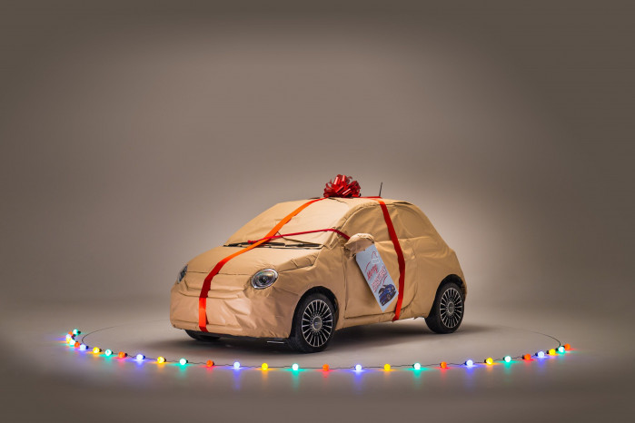 Fiat's special deliveries will have Christmas all wrapped up!