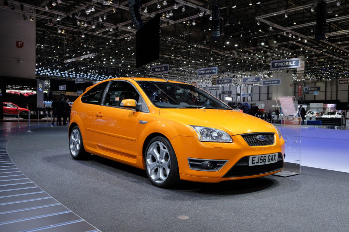 Looking back through the history of the Ford Focus ST
