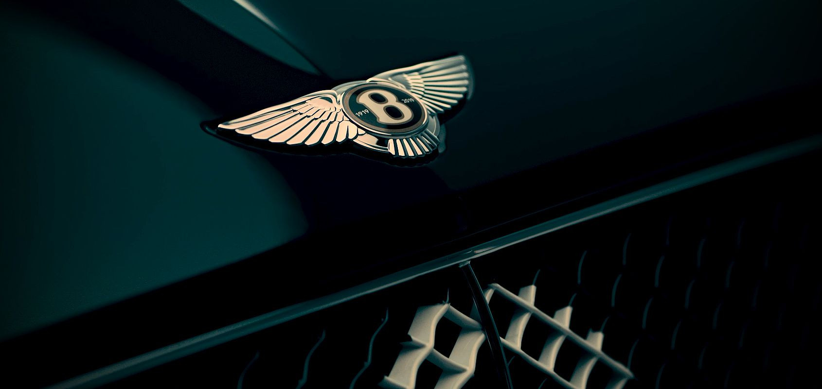 Bentley Continental Centenary Special Edition badge
