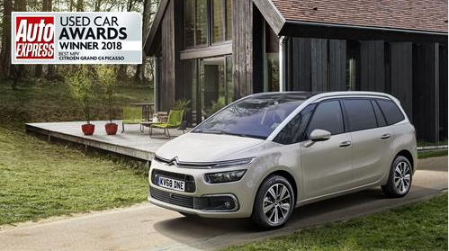 Citroën's Grand C4 Picasso Voted 'Best Used MPV' in Auto Express Used Car Awards
