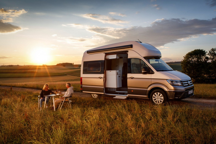 Volkswagen bigs up its California campervan