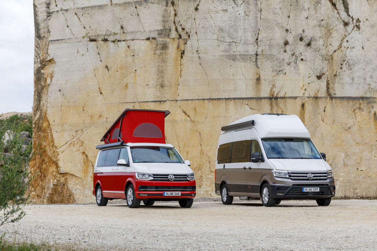 Volkswagen makes grand return to Motorhome and Caravan show with full range of California Campervans