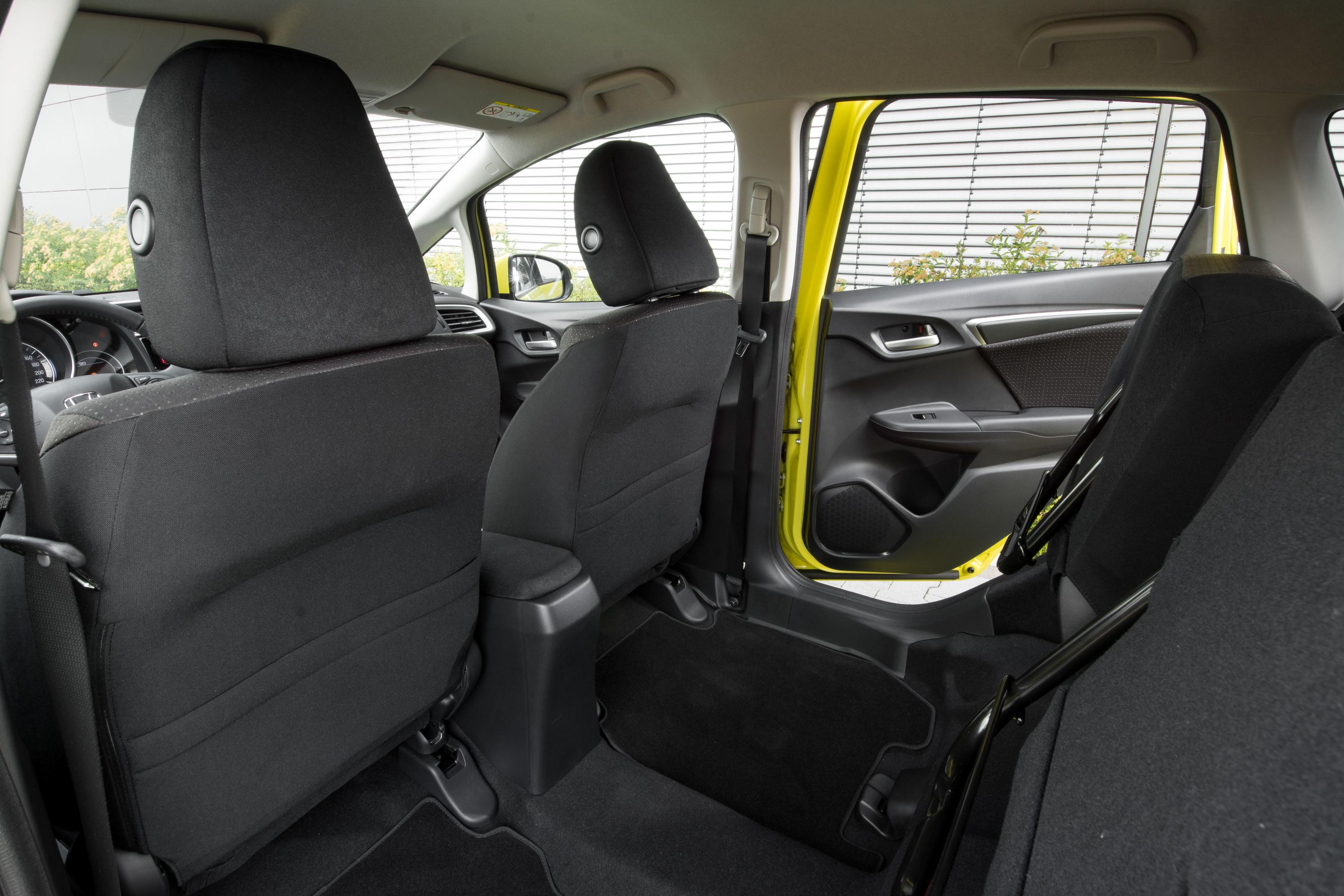 Honda Jazz with Magic seat raised