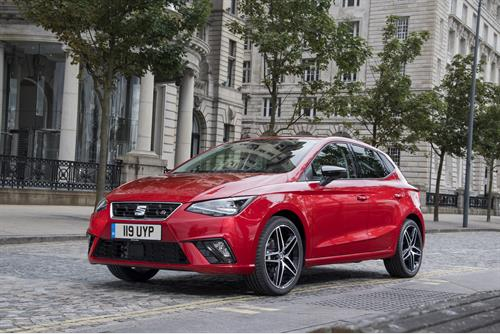 SEAT Ibiza recognition at Car of the Year 2018 Awards