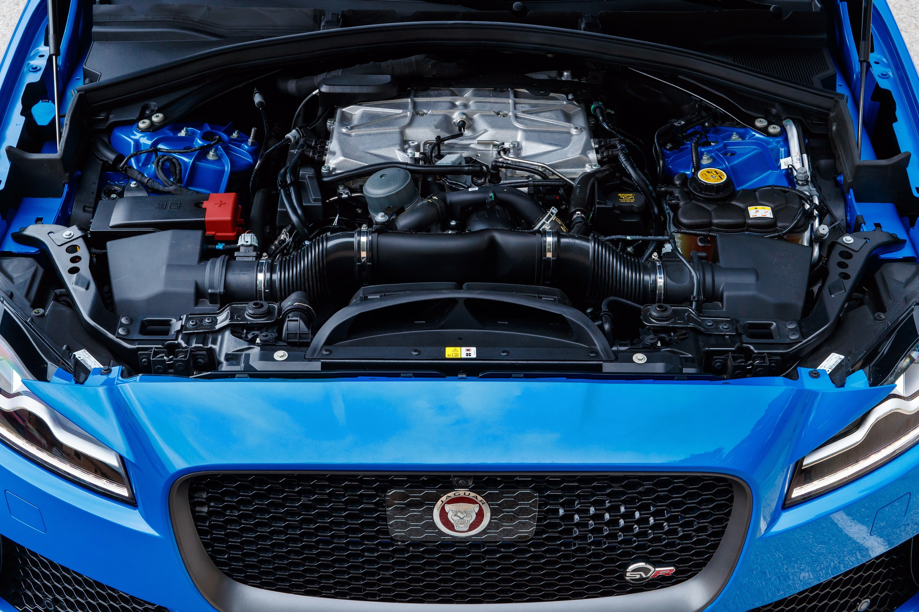 Under the bonnet of the Jaguar F-Pace SVR