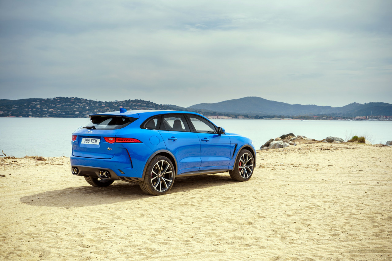 Test Drive Review: Jaguar F-Pace SVR