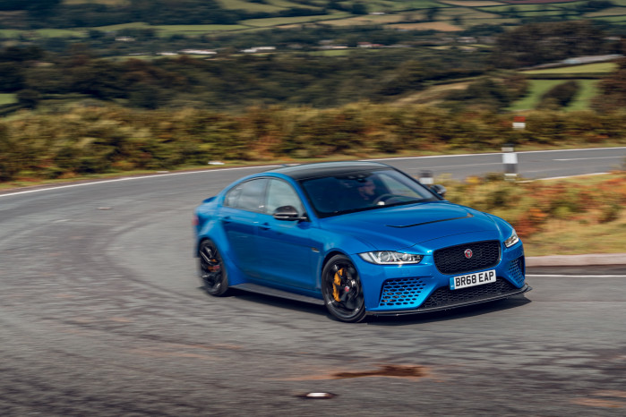 First Drive: Jaguar's XE SV Project 8 Touring is theatre on wheels