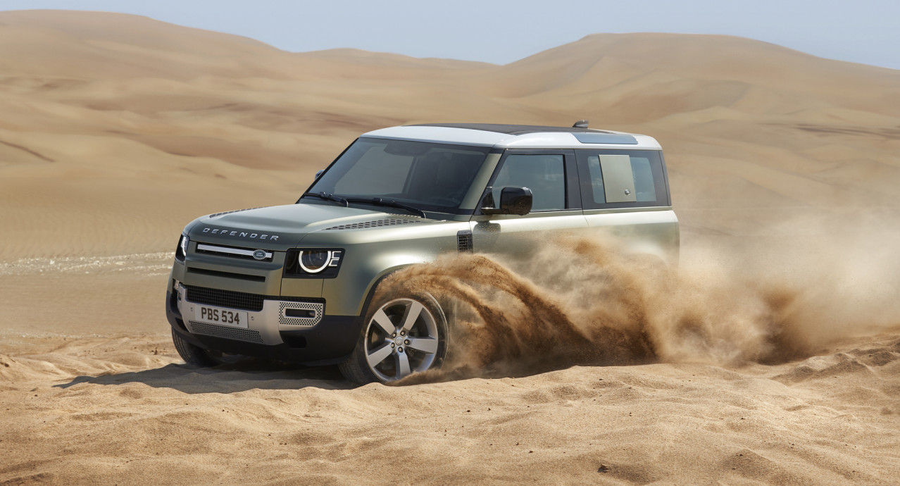 "Interest in new Land Rover Defender ""order of magnitude"" more than Evoque"