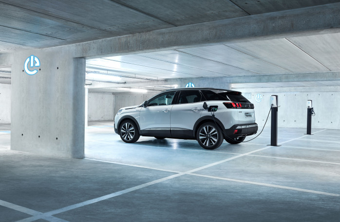 The New Peugeot 3008 SUV GT Hybrid4